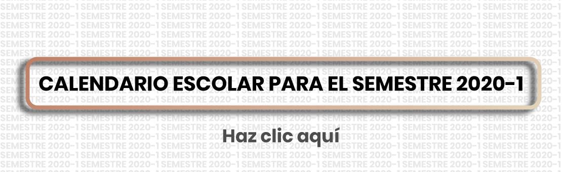Calendario Escolar Aragon 2020.Calendario Escolar Para El Semestre 2020 1